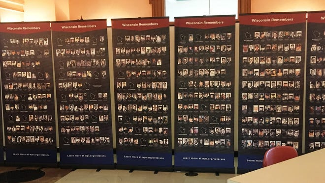 """Wisconsin Remembers: A Face for Every Name"" will be on display at the Fond du Lac Public Library from April 30 to May 5. The panels, brought to Fond du Lac by the South Shore Chorale, feature a photo for each of the 1,161 Wisconsinites officially listed on the Vietnam Veterans Memorial in Washington, D.C."