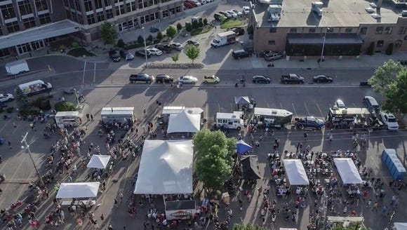 Over 15,000 people attended the inaugural PorkPalooza