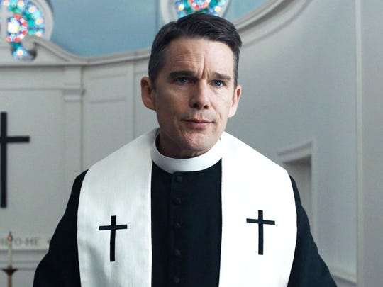 Ethan Hawke plays a Protestant priest in turmoil in