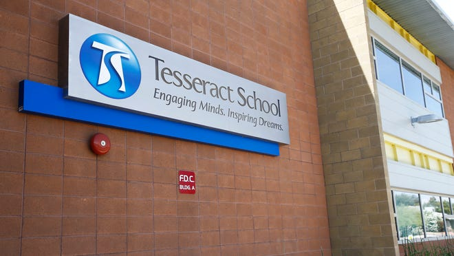 The Tesseract School has 400 students at two campuses, in north Phoenix and Paradise Valley.