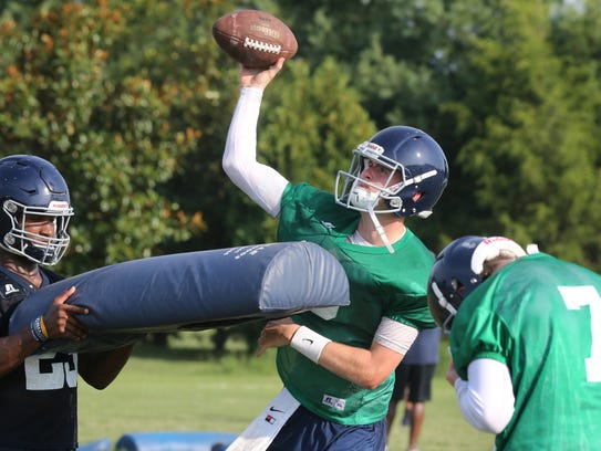Siegel's Brendan Crowell will take over as the starting