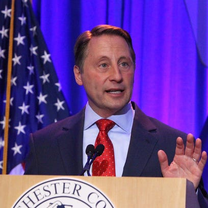 Westchester County Executive Rob Astorino at his April