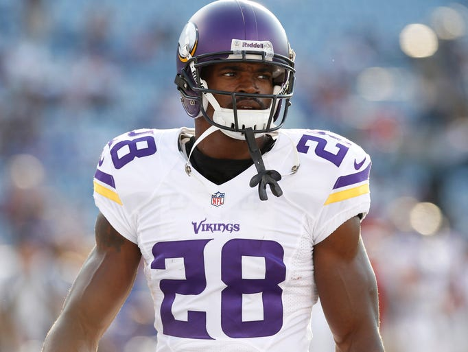 1. Adrian Peterson, Vikings