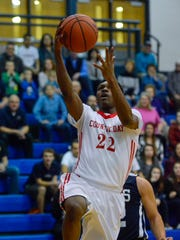 York Country Day junior DeAireus Brown was the only