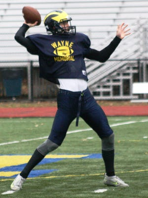 Wayne Memorial junior quarterback Joe Bob Walker accounted for 507 yards in total offense during Friday night's 55-14 victory over Dearborn Edsel Ford.