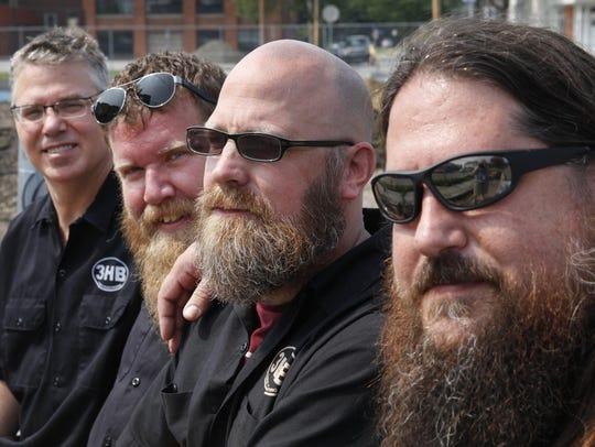 """From left, Dan Nothnagle, Todd Dirrigl, Brian """"Skip"""""""