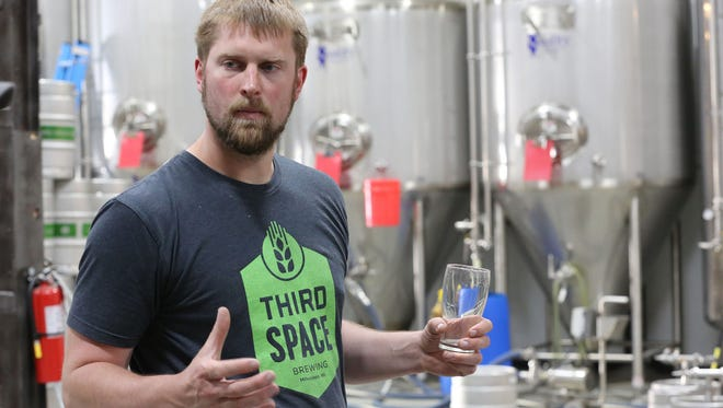 Third Space Brewing took gold for its Unite the Clans Scottish Style Rye Ale at the Great American Beer Festival. Kevin Wright is co-founder and brewmaster.