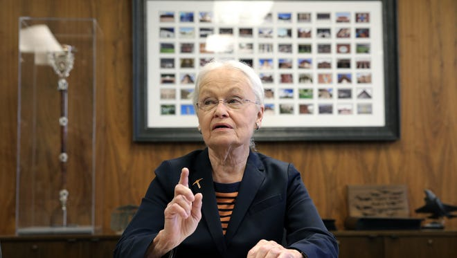 UTEP President Diana Natalicio discusses her decision to retire after leading the university for 30 years. She will remain until a successor has been found, which could take several months.