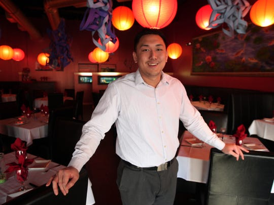 Dan Chung at his Mr. Chung's Contemporary Asian Cuisine on Speedwell Ave in Morristown January 15, 2015.