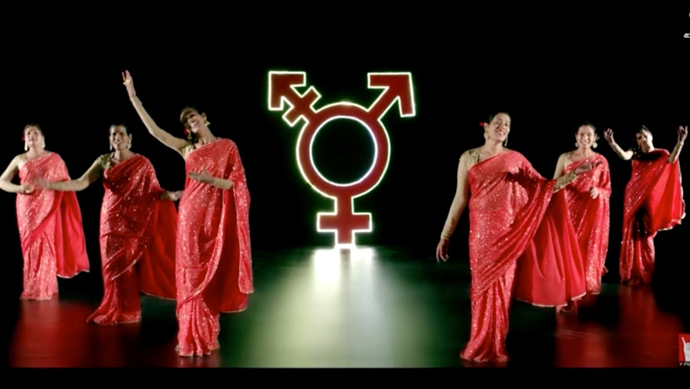 Ad campaign featuring India's first transgender pop group ...