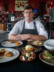 Jacob Demars took over as executive chef at Marlene's at Sevastopol Station in 2017. Since then, he has created 10-course pop-up dinners and was the executive chef of Trostel's Dish in Clive.