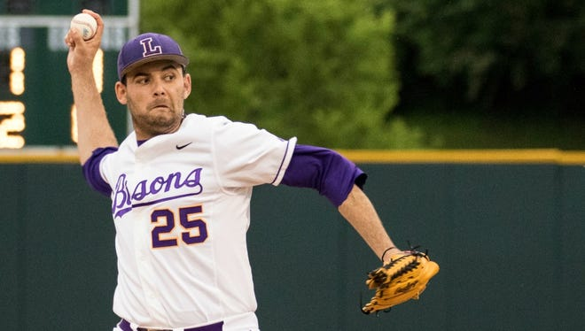 Lipscomb pitcher Ian Martinez-McGraw leads the nation in starts heading into the NCAA Regional at Vanderbilt.