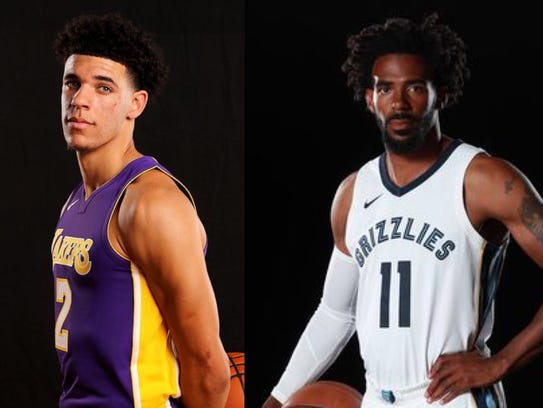 Mike Conley and the Grizzlies will host Lonzo Ball