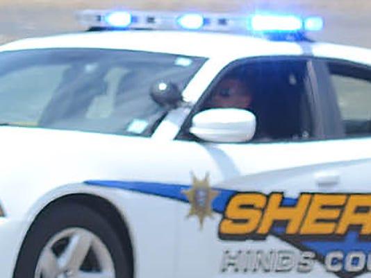 Hinds deputy sheriff car