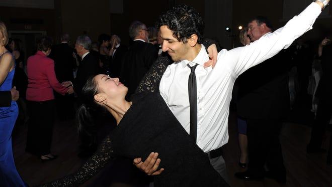 Sirui Lui and Rodrigo Almarales, in a file photo from a Cincinnati Ballet social event.
