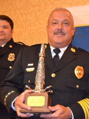 Ashland City fire chief Chuck Walker