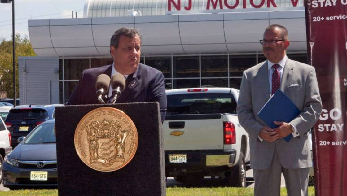 Christie announces changes to motor vehicle commission for New jersey motor vehicle commission thorofare thorofare nj
