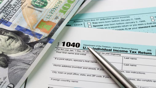 Getty Images/iStockphoto Income Tax filing