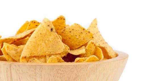 Bowl full of crisps