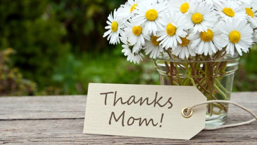 Thanks to all the moms in our audience