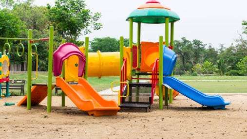 Falls off playground equipment is the No. 1 injury for Green Bay-area children requiring medical treatment.