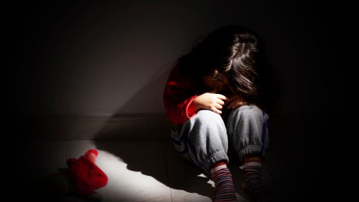Children can suffer a range of traumatic effects from being in an abusive household.