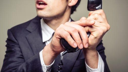 Beware of scam calls.