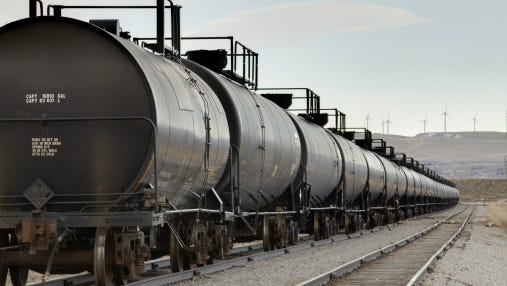 Railroad tankers