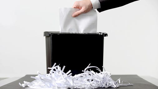 Free shredding event on Dec. 8, 2017 at Garrett Coliseum.