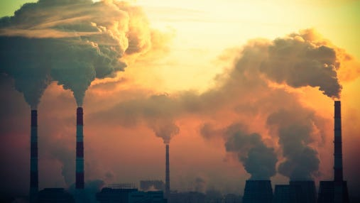 Pollution is one of many issues addressed in a series of editorials by the seventh-grade class at Farnsley Middle School.