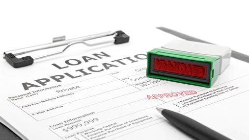 Loan contract approved