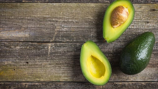 Linda W., Aurora, Colo., says she uses an ice cream scoop to remove avocados from their peels.