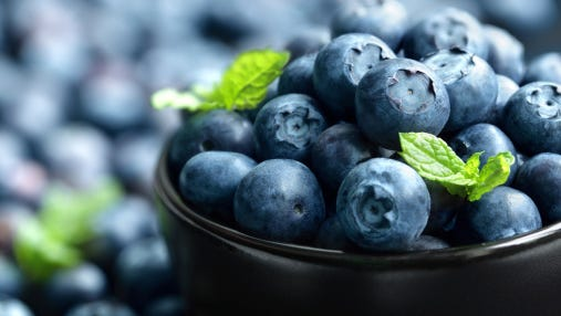 Kiwanis blueberries are on sale now.