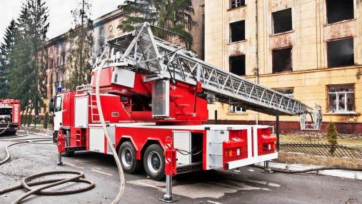 fire motor ladder