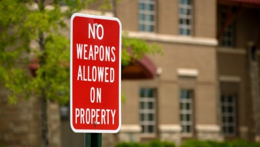 No public schools in Franklin County allow guns on their campuses.