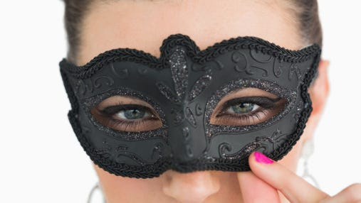 Mask up - or don't - for a CCT fundraiser.