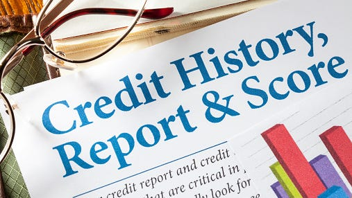 Credit History Report and Score