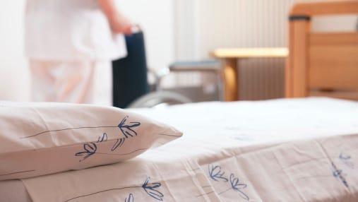 Stock Photo: Nursing home