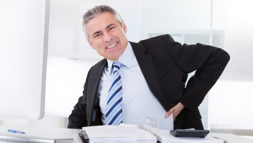 Health problems can arise from having prolonged bad posture.