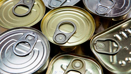 The West De Pere High School men's soccer team will split into groups and go door-to-door on Sunday to collect canned food donations for charity.