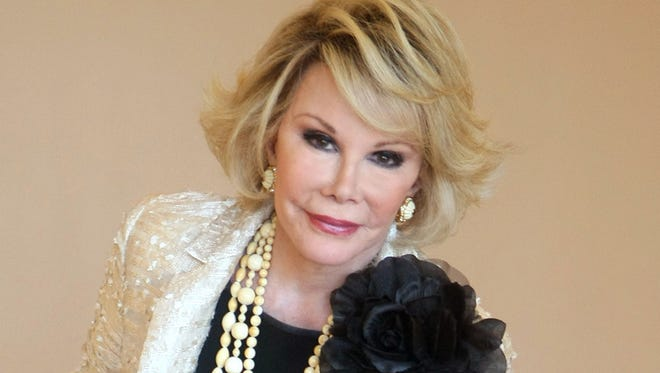 """Joan Rivers during the 25th International Film and Programme Market for TV, Video, Cable and Satellite, in Cannes, southeastern France in 2009. According to Rivers' 2014 will, which was filed in New York State Surrogate's Court, the late comedienne made her daughter, Melissa Rivers, her will's executor with """"the broadest and most absolute permissible direction"""" over a fortune that has been estimated as high as $150 million. Rivers died Sept. 4 at 81."""