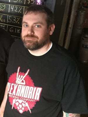 Andy Reynolds of Alexandria Brewing Co. expects to open a tasting room in southern Campbell County in March 2018.