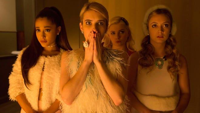 "The quartet of Chanels on Fox's ""Scream Queens."""