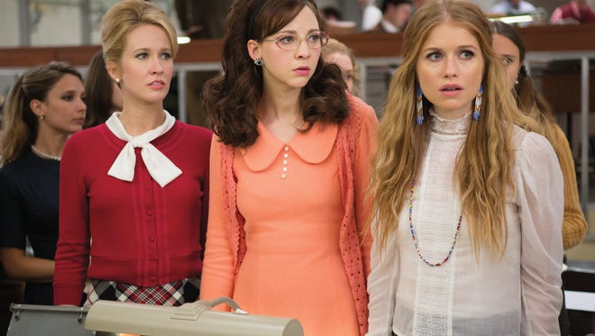 Anna Camp, Lena Hall and Genevieve Angelson star in 'Good Girls Revolt.'