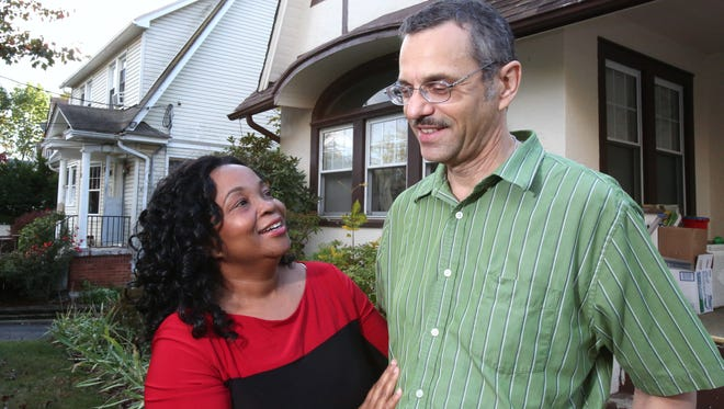 Steve and Emelia White at their Spring Valley home Oct. 16, 2014. Their two sons graduated from the East Ramapo school district.