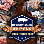 Do you love bacon? Go check out the America Loves Bacon Festival on Saturday, Feb. 28.