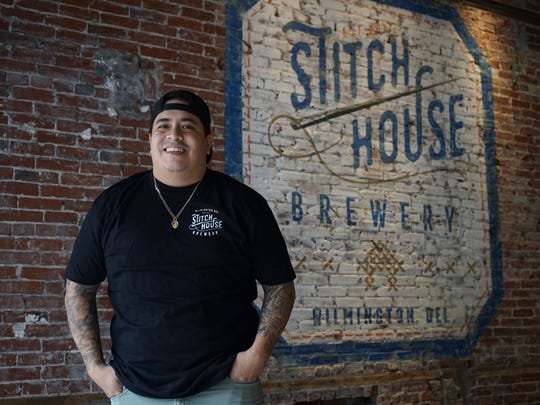 Dan Sheridan, owner and chef of Stitch House Brewery, a new brewery opening on N. Market St. in downtown Wilmington in coming weeks.