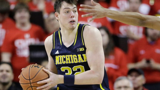 Michigan freshman Ricky Doyle played 23 minutes Saturday in 66-56 loss to No. 14 Maryland.