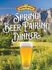 Sierra Nevada's Spring Beer Pairing Dinner.
