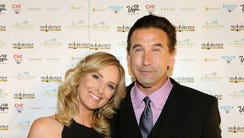 Billy Baldwin and Chynna Phillips, seen here together